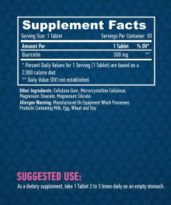 HAYA LABS Quercetin 500 mg